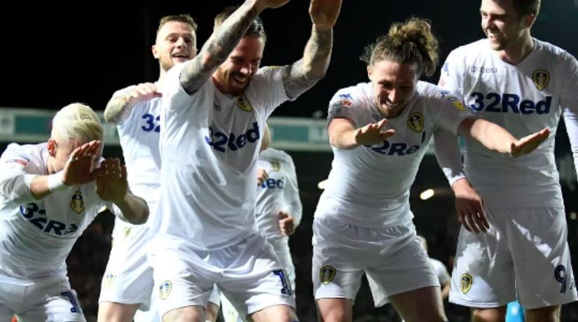 Leeds 2-1 Swansea: Two first-half goals send Leeds back to the top of theleague